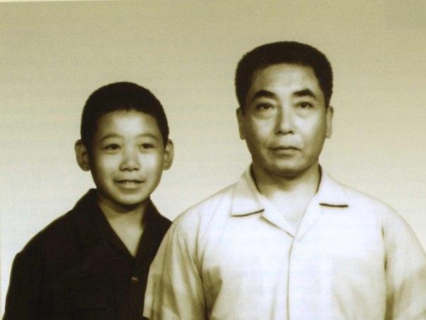 Чэнь Чжаокуй и его сын Чэнь Юй