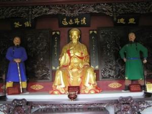 Храм, посвященный Чэнь Чансину