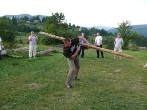 Тренировочный лагерь в Карпатах, 2009 год